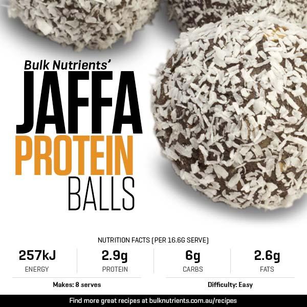 12 Days of Christmas - Jaffa Protein Balls