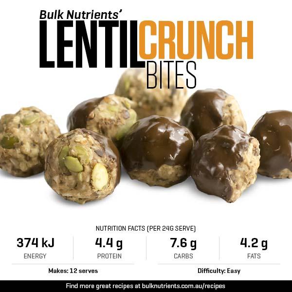 Lentil Crunch Bites
