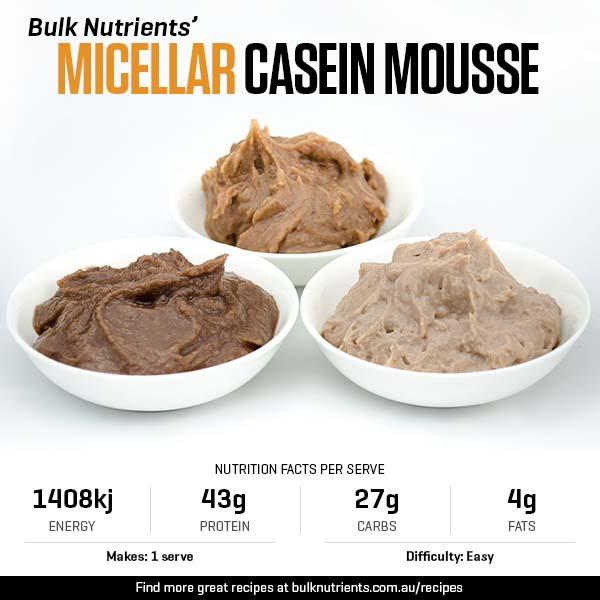 Micellar Casein Mousse