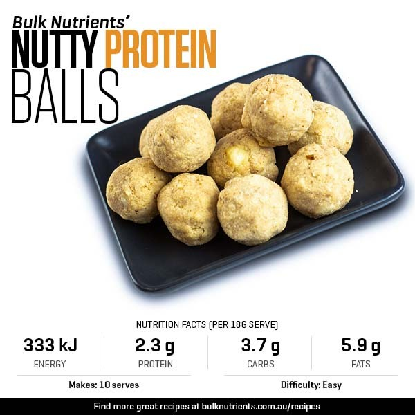 Nutty Protein Balls