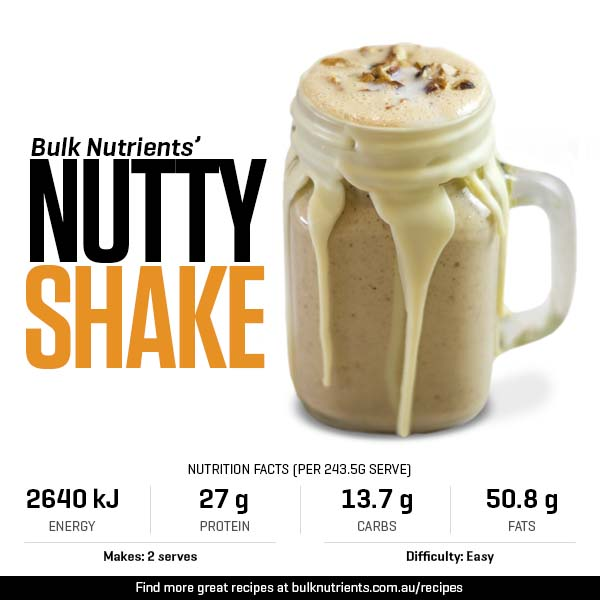 12 Days of Christmas - Nutty Shake