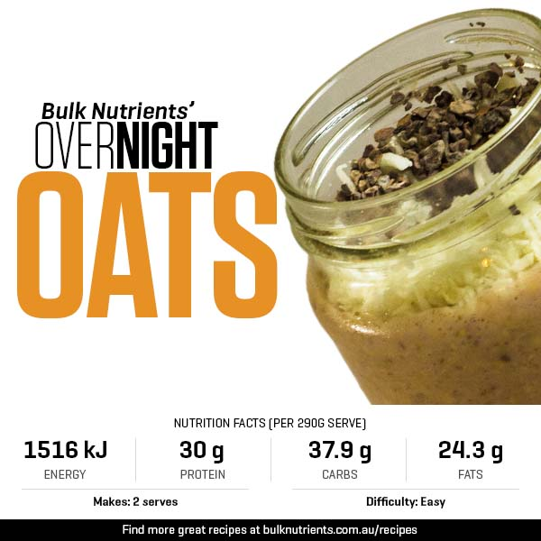 12 Days of Christmas - Overnight Oats