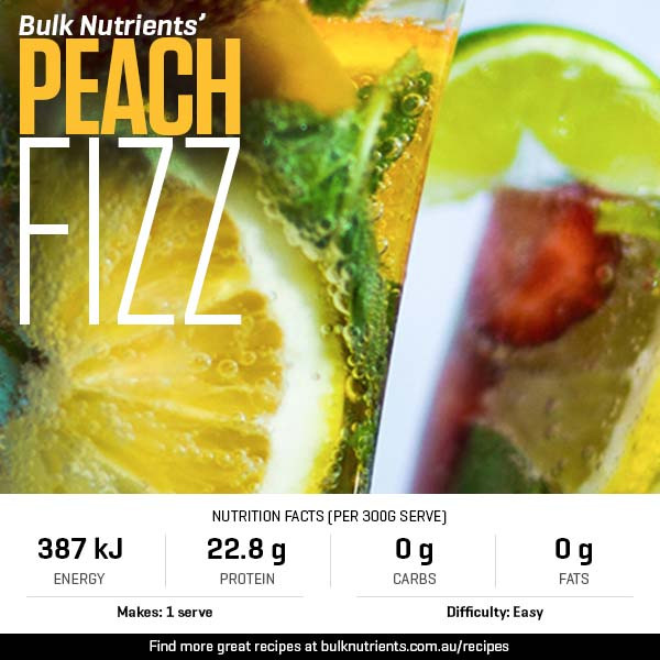 12 Days of Christmas - Peach Fizz
