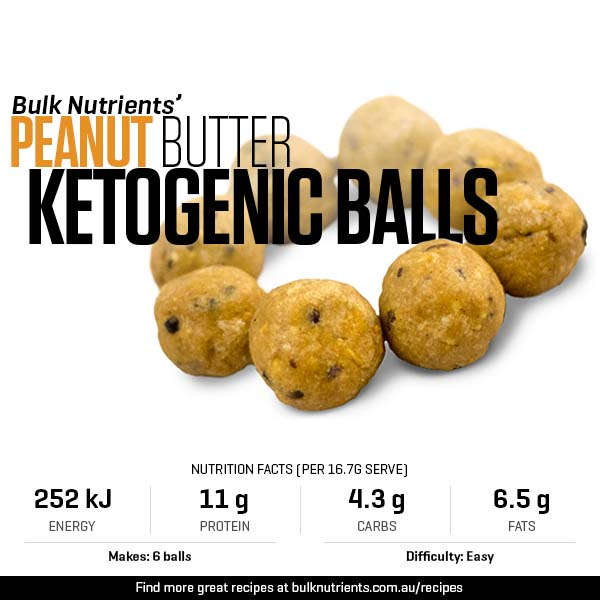 Peanut Butter Ketogenic Balls
