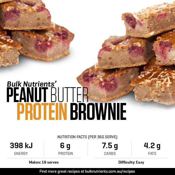 Peanut Butter Protein Brownie