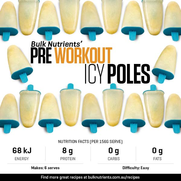 12 Days of Christmas - Pre Workout Icy Poles