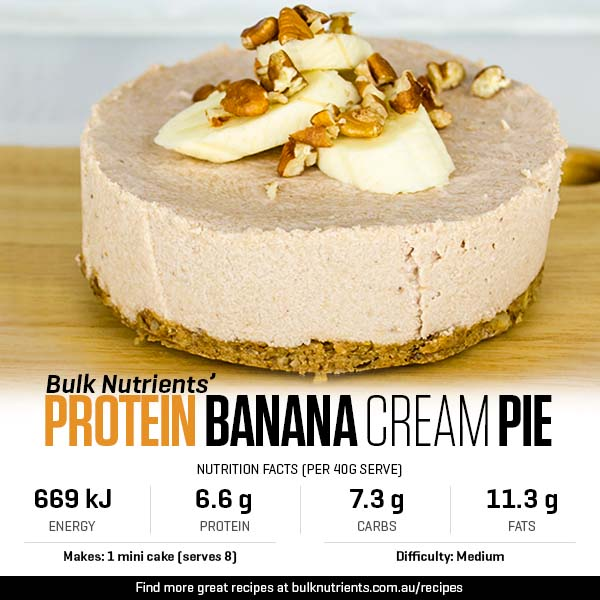 Protein Banana Cream Pie