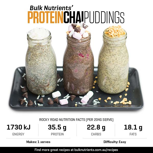 Protein Chia Puddings