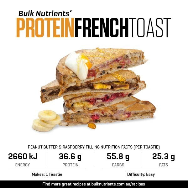 Protein French Toast - Three Ways
