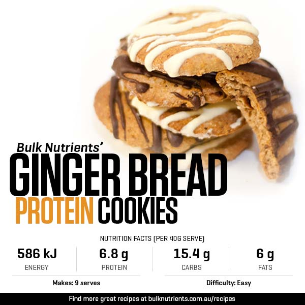 Protein Ginger Bread Cookies