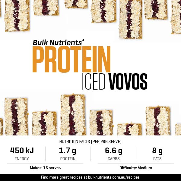 Protein Iced Vovos