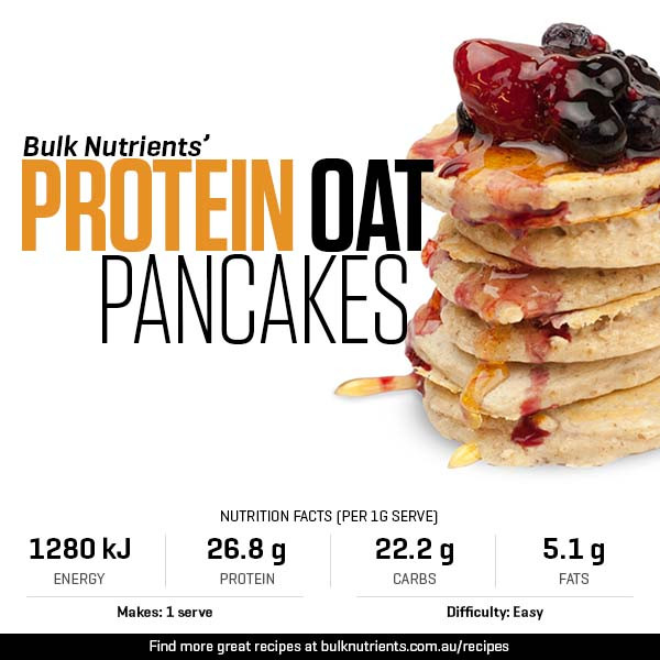 Protein Oat Pancakes