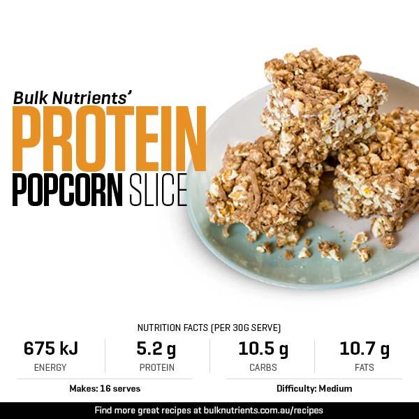 Protein Popcorn Slice