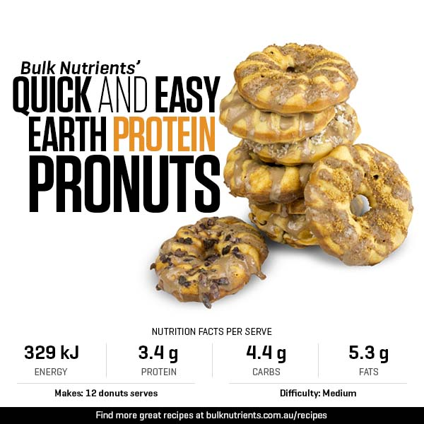 Quick And Easy Earth Protein Pronuts