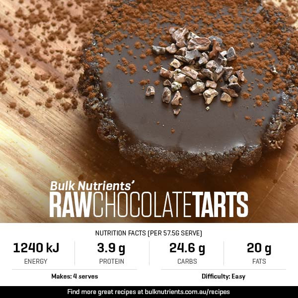 Raw Chocolate Tarts