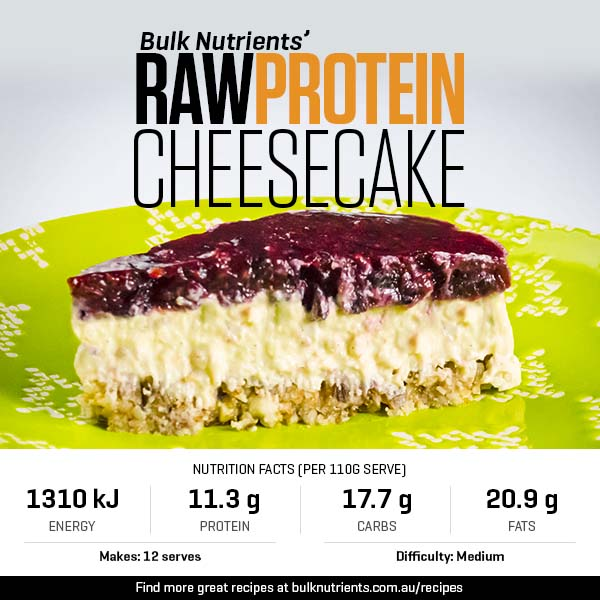 Raw Protein Cheesecake
