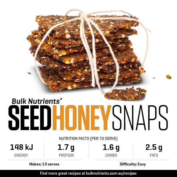Seed Honey Snaps