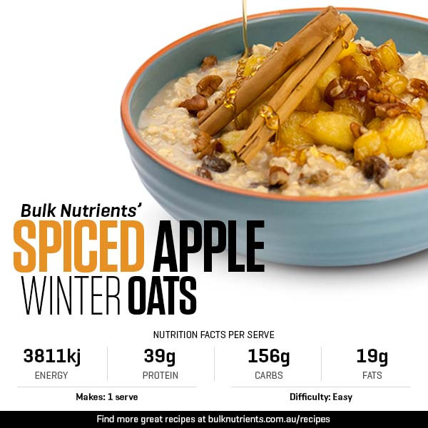 Spiced Apple Winter Oats