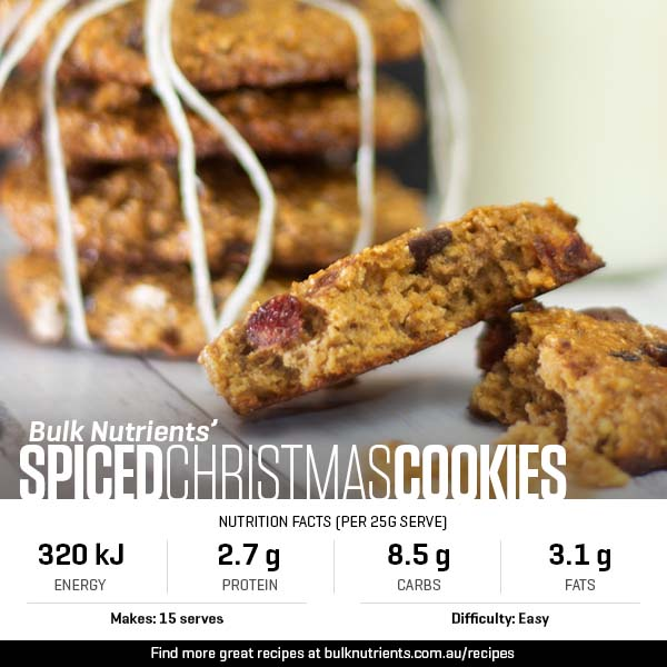 12 Days of Christmas - Spiced Christmas Cookies