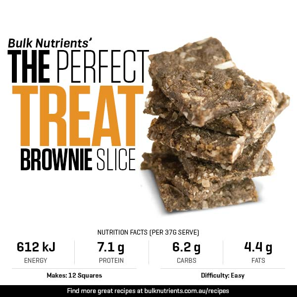 The Perfect Treat - Brownie Slice