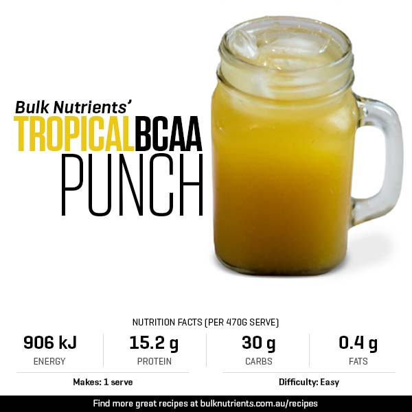 12 Days of Christmas - Tropical BCAA Punch