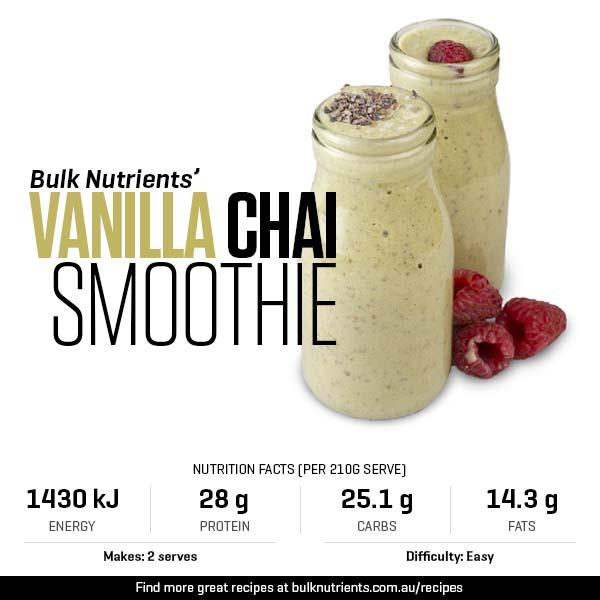 Vanilla Chai Smoothie