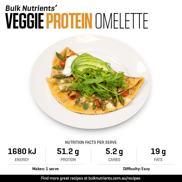 Veggie Protein Omelette