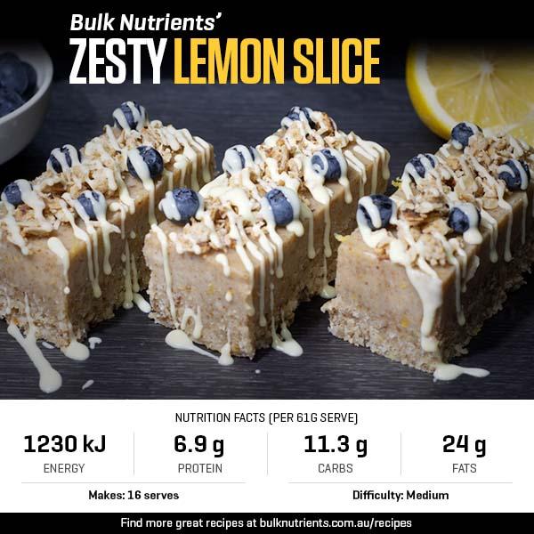 Zesty Lemon Slice