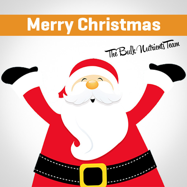 Merry Christmas from the Bulk Nutrients team