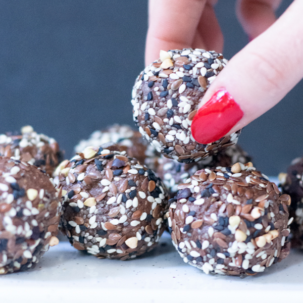 Nutella Inspired Protein Balls