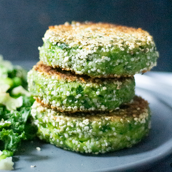 Easy Meal Prep Spinach Patties