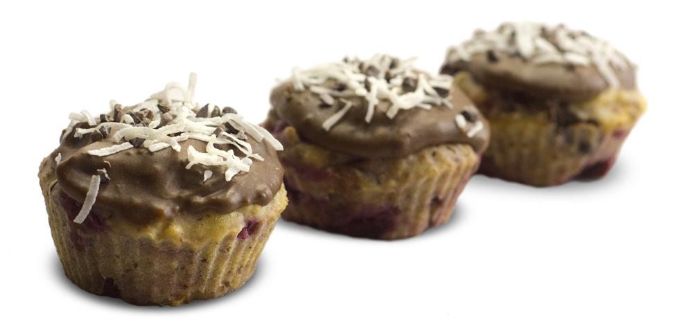 Chocolate Chip Raspberry Cupcakes