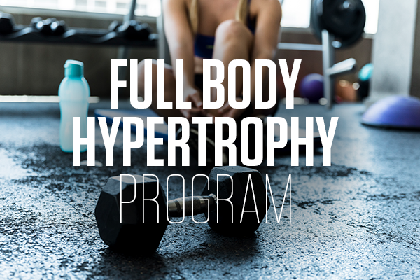 Full Body Hypertrophy Program
