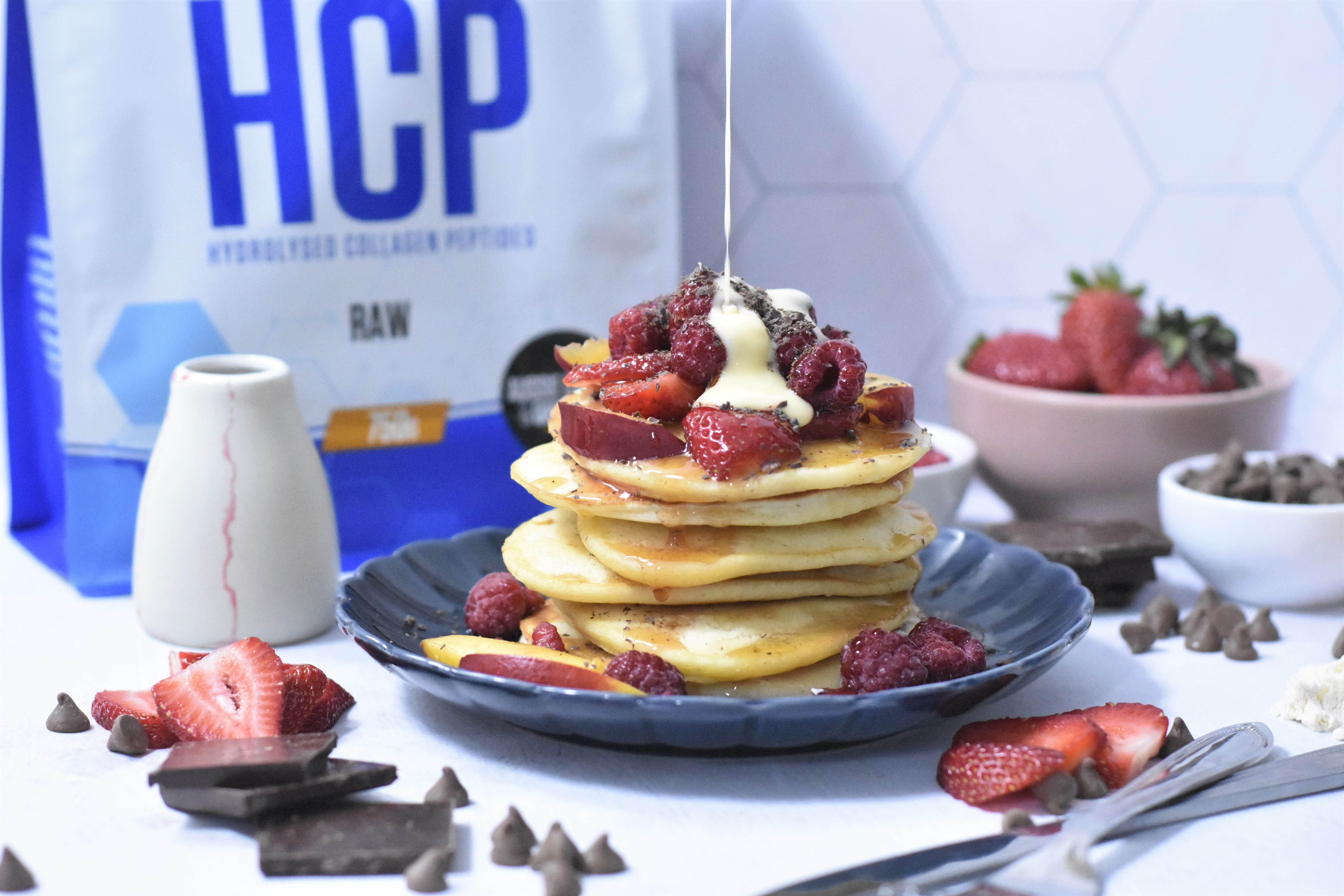Hydrolysed Collagen Protein Pancakes