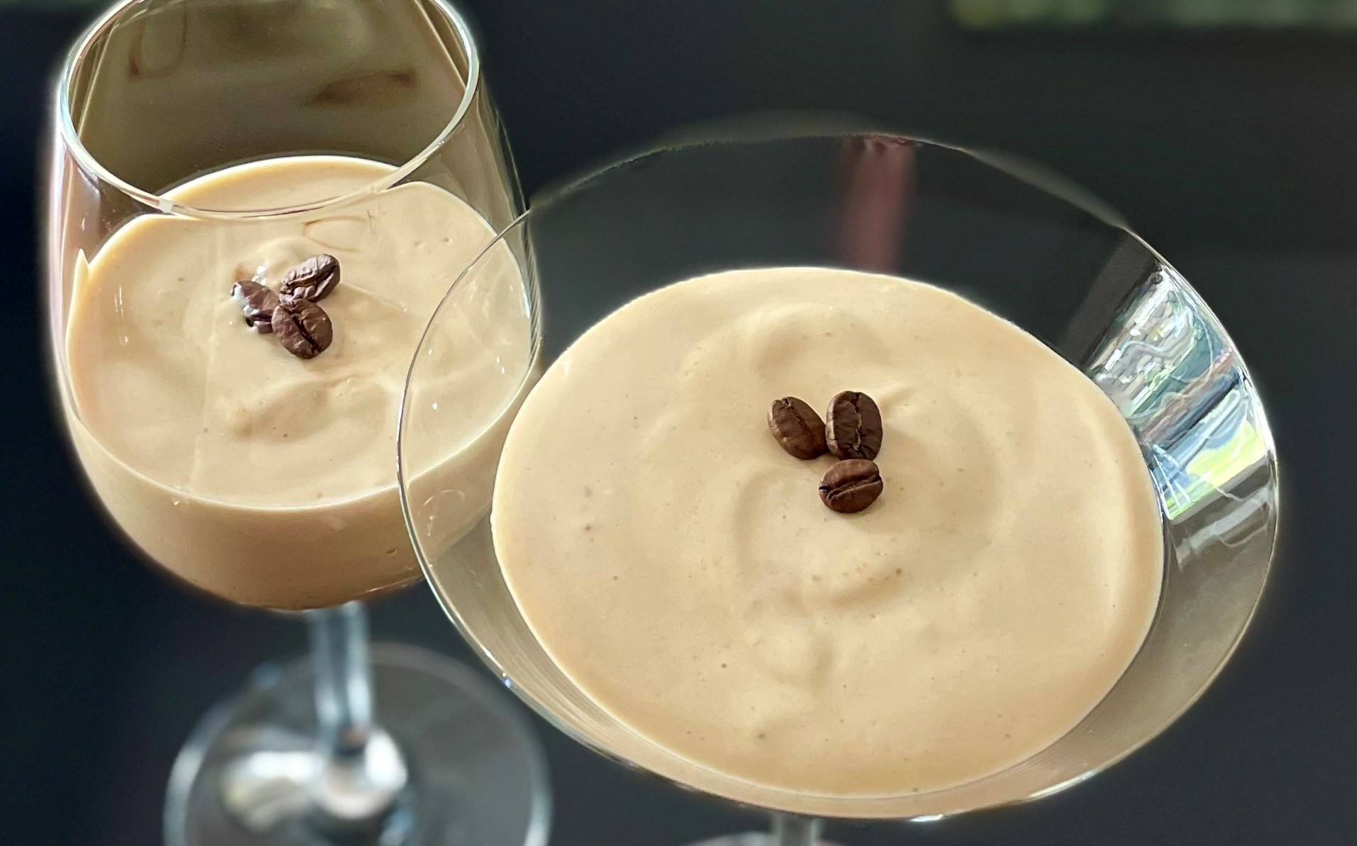 High Protein Espresso Martini Cheesecakes