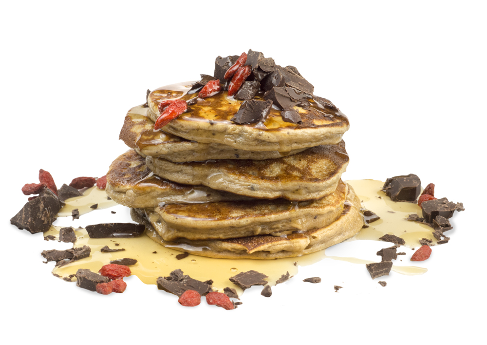 12 Days of Christmas - Choc Biscuit Pancakes