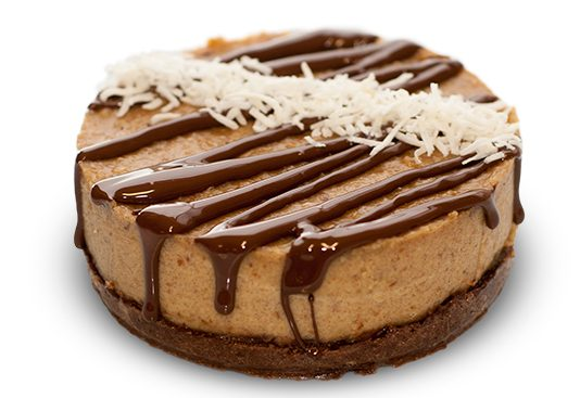 Protein Snickers Cake