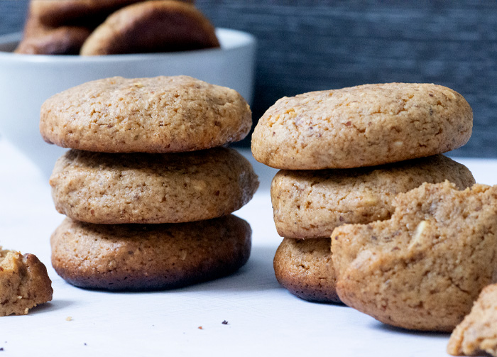 Nutty Tahini Protein Cookies