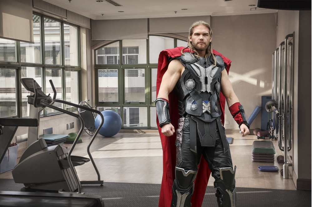 Thor's Superhero Arm Workout