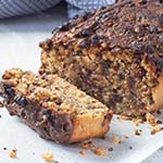 Chocolate Chip Peanut Butter Protein Loaf