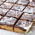 Nutty Chocolate Ganache Protein Slice