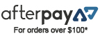 Afterpay available for orders over $100*