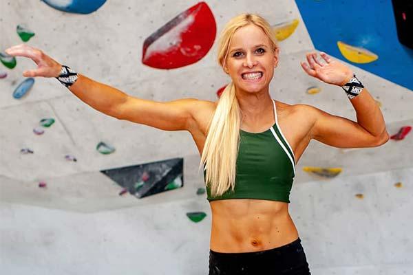 Anna Davey Climbing Gym
