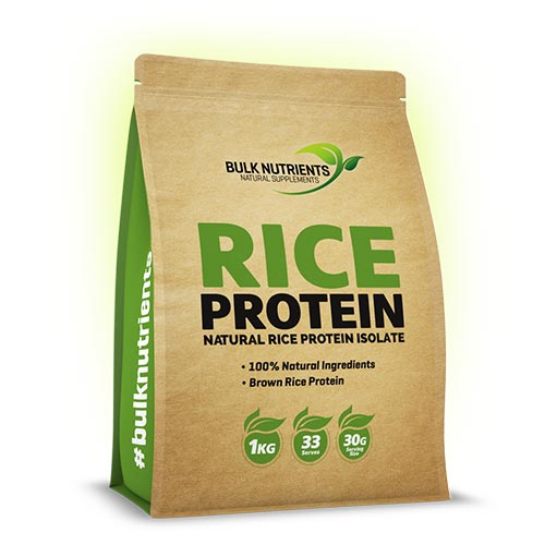 Bulk Nutrients - Rice Protein