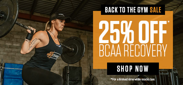 Back to the gym sale - 25% Off* BCAA Recovery - *For a limited time while stocks last