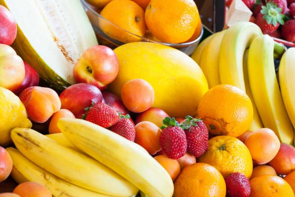 Fruit should remain in your diet as they're full of vitamins and fibre