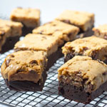 Double Choc Chips Protein Brownies