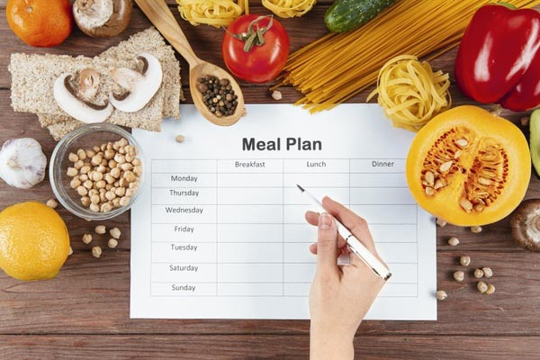 Preparation & planning is key to dieting success