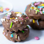High Protein Chocolate Mini Donuts