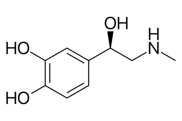 Adrenaline chemical structure